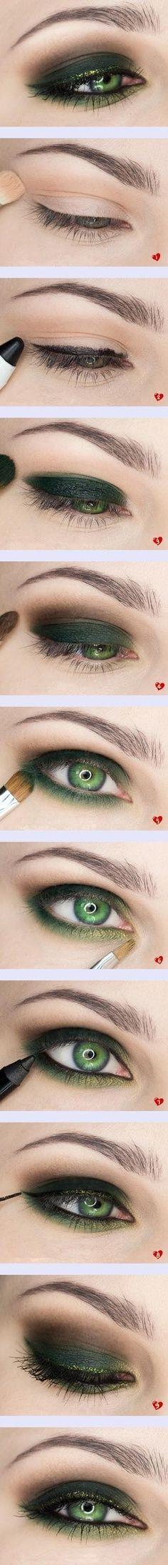 Haz tus ojos misteriosos para una salida nocturna con este tutorial
