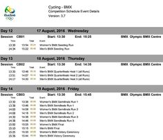 HERE IT IS: ~~Repost via an FB friend ~~ #BMX #OLYMPIC #SCHEDULE #GOODLUCK #BMXRACERS #LETSGO #TEAMUSA #USABMX #GOUSA #SQUADGOALS  #WIN #GOALS #OLYMPICS #OLYMPICGAMES #RIO2016 #SUMMER2016 @boxcomponents #boxbmx #boxracing #BoxComponents  #pedal #bmxlife #bmx4life #bmxracing #bmxnews #bmxfamily #bmxkid #usa #SUPPORTLOCALBIKESHOPS  Dealers Contact #TorcanoIndustries #USA 1 855-359-3339