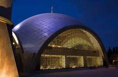 Sakirin Mosque, Istanbul, designed by a female, Zeynep Fadillioglu.