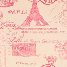 French Stamp Gumdrop/Natural by Premier Prints - Drapery Fabric