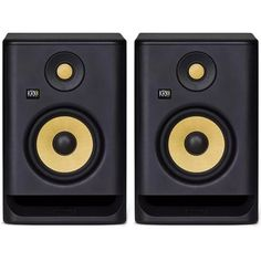 For a limited time, purchase a pair of KRK Studio Monitors and redeem a set of free Shure Wired Sound Isolating Earphones. Dj Studio, Home Studio Setup, Studio Gear, Arduino, Home Music, High Quality Speakers, Monitor Speakers, Powered Speakers, Dj Equipment