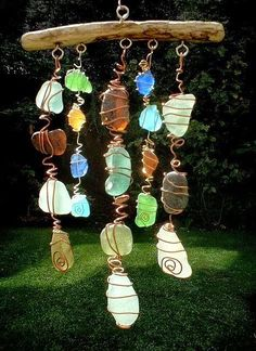 Love this with Beach Glass