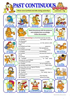 This worksheet was designed for my weaker students to practise the past continuous form. English Grammar Tenses, Teaching English Grammar, English Grammar Worksheets, French Language Learning, English Writing, English Vocabulary, German Language, Japanese Language, Teaching Spanish
