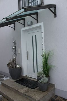 We were allowed to a very nice noble house near Munich with our . - We were allowed to make a very nice noble house near Munich with our decoration even more attractiv - Door Design, Exterior Design, House Design, Canopy Design, Home Projects, Sweet Home, Outdoor Decor, Home Decor, Pergola