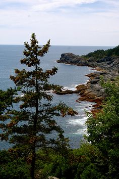 Monhegan Island, a small island off the coast of Maine has a pretty solid network of hiking trails. Many of the trails led out to beautiful views from the coastal cliffs, like this one. Wonderful Places, Beautiful Places, Beautiful Scenery, Moving To Maine, Monhegan Island, Maine New England, Boothbay Harbor, New Hampshire, Beautiful Landscapes