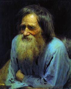 Ivan Nikolayevich Kramskoy - Mina Moiseev, (1882).