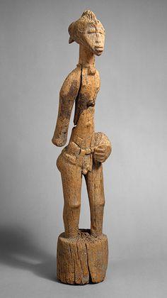 Male Poro Figure (Pombia) [Côte d'Ivoire; Senufo, Tyebara] (1978.412.315) | Heilbrunn Timeline of Art History | The Metropolitan Museum of Art