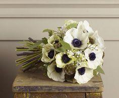 Bouquet navy/gold