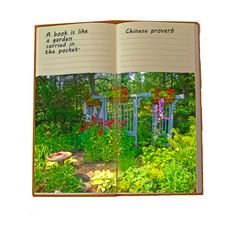 """""""A book is like a garden carried in the pocket. - Irish proverb"""" Garden in book. Irish Proverbs, Chinese Proverbs, Unique Gifts, Books, Garden, Design, Irish Sayings, Original Gifts, Livros"""