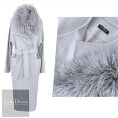 Наши любимые #пальто со съемным воротником из меха ламы от @littledrama_by_nc… Look Fashion, Timeless Fashion, Womens Fashion, Winter 2018 Fashion, Autumn Fashion, Long Winter Coats, Maxi Coat, Cute Coats, Fur Accessories