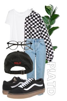 """""""it's a hell of a feeling though"""" by qimmig on Polyvore featuring T By Alexander Wang, Topshop, Vans and Ralph Lauren"""