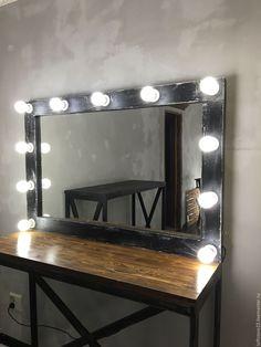 Купить Зеркало ручной работы ELDER - чёрно-белый, зеркало ручной работы