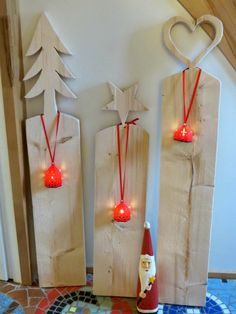 Rasselbande: Weihnachtsbasteleien aus Holz