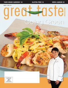 Great Taste Magazine 2011 March April Issue