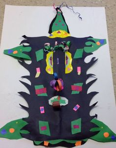 This is our totally awesome mask by Brianna Felker and Ashley Simon!!!!!