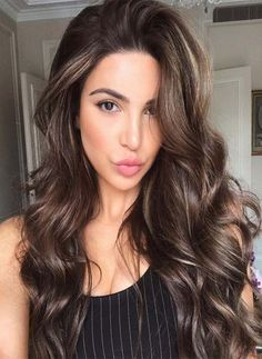 66 Subtle Balayage Brunette Hairstyles With Fall Winter Colors