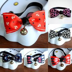 Just added this new Cat Pet Collar Cu... for you.  Woo Hoo! What do you think? http://catrescue.myshopify.com/products/cat-pet-collar-cute-bow-tie-with-bell?utm_campaign=social_autopilot&utm_source=pin&utm_medium=pin