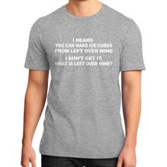 Fashions leftoverwine District T-Shirt (on man)
