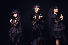 My work. Her name is BABYMETAL. One of most famous idol in Japan. I like BABYMETAL so much.""