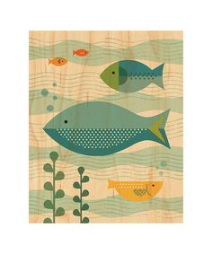 Fish Wall Art inspiration for a fish or underwater ATC