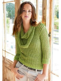 Knitted Jumper, free pattern in German