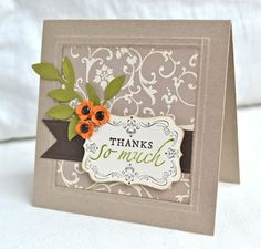 Stampin' Up ideas and supplies from Vicky at Crafting Clare's Paper Moments: Stampin' Up - your way
