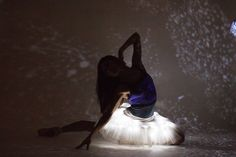 Stephanie Kim amidst the stars. Photo by Ballet Zaida
