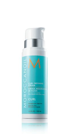 Wavy and curly hair can easily lose its definition—Curl Defining Cream brings it back. Advanced heat-activated technology provides intense conditioning and activates a curl memory factor to keep hair bouncy and control frizz for hours. Argan oil and protein condition, detangle and tame curls, so hair remains smooth and frizz-free with great movement.