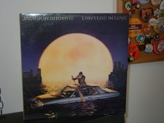 Jackson Browne Lawyers in Love 1980's Retro Vintage Vinyl LP Album MTV Tender is the Night For a Rocker Cut it Away by GailsPopCycle on Etsy