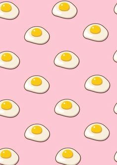 Image via We Heart It #background #breakfast #eggs #food #hipster #iphone #kawaii #pale #pastel #pink #retro #soft #sunnysideup #wallpaper