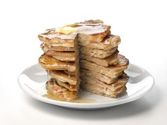 Multigrain Pancakes recipe from Food Network Kitchen via Food Network