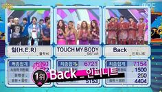 INFINITE win today's Music Core with 7154 points!!^^ #Back1stWin pic.twitter.com/kVyy3UFZn5
