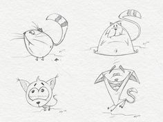 Character collection 02 on Behance