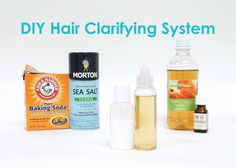 Tell us in the comments what DIY you'd like to see next! oVertone shows you how to make your own clarifying shampoo and rinse to keep your hair healthy, shin...
