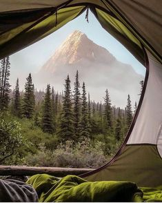 Mountain Photography, Nature Photography, Autumn Scenery, Canadian Rockies, I Want To Travel, Adventure Is Out There, The Ordinary, Tent, Places To Go