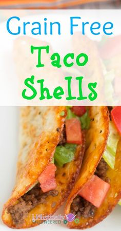 Read More About Grain Free Taco Shells (Naturally Low Carb) - Holistically Engineered Primal Recipes, Ketogenic Recipes, Mexican Food Recipes, Low Carb Recipes, Real Food Recipes, Cooking Recipes, Healthy Recipes, Diabetic Recipes, Healthy Food