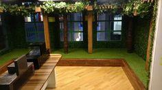 play area for Kidzania, Noida installed with EWF Oak 3 Strip & EWF Walnut 3 Strip 3/3