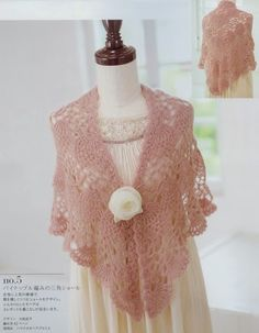 Kira scheme crochet: Scheme crochet no. Poncho Au Crochet, Beau Crochet, Crochet Cape, Knitted Shawls, Crochet Scarves, Crochet Clothes, Knit Crochet, Shawl Patterns, Crochet Patterns