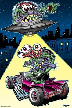 Britt Madding: Hot Rod & Monster Artist | Gallery 1