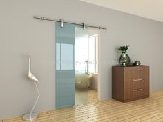 Sliding Bathroom Door modern style sliding barn door | bluehaus interiors | pasadena
