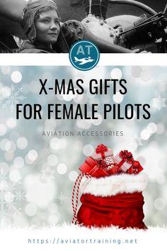 X-mas gifts for female pilots Fly Safe, Cheap International Flights, Becoming A Pilot, Pilot Training, Pilot Gifts, Female Pilot, Interesting Topics, Christmas Gifts, Xmas