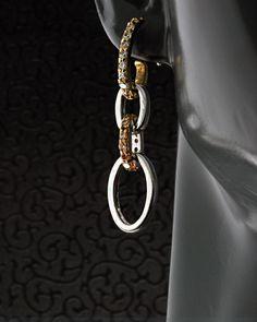 Σκουλαρίκια ασημένια 925 με Ζιργκόν