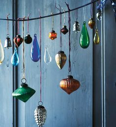 Pretty ornaments.