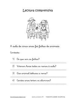 Lecturas comprensivas 1 4 gallego by nomenterodelapataca via slideshare