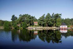 Härlig stuga på egen ö! (Stuga uthyres i Nyköping, Trosa, Stockholm, Södermanland)