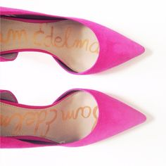 Hot Pink Sam Edelman Heels