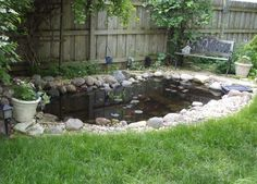 Beautiful Backyard Fish Pond Landscaping Ideas 14 image is part of 50 Beautiful Backyard Fish Pond Garden Landscaping Ideas gallery, you can read and see another amazing image 50 Beautiful Backyard Fish Pond Garden Landscaping Ideas on website Backyard Water Feature, Ponds Backyard, Garden Ponds, Garden Fountains, Backyard Ideas, Pond Landscaping, Landscaping With Rocks, Fish Pond Gardens, Water Gardens
