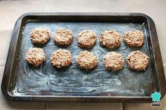 Receta de Galletas de avena sin azúcar ni harina - Paso 4 Breakfast For Dinner, Cookies, Sin Gluten, Griddle Pan, Deli, Chicken Recipes, Cereal, Muffin, Food