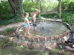 Must make ! Wading pool fountain