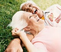 Laughing knows no age boundaries - It's good for the young and the old~